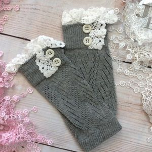 Other - Boutique Baby Girls Knit Legwarmers
